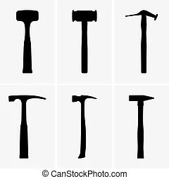 Hammers Vector Clipart EPS Images. 39,736 Hammers clip art