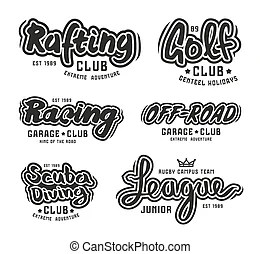 Golf lettering Illustrations and Stock Art. 436 Golf