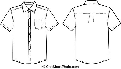 Collared shirt Illustrations and Clipart. 6,276 Collared