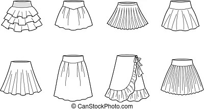 Mini skirt Clipart and Stock Illustrations. 1,498 Mini