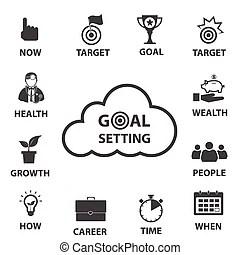 Goal setting Stock Illustrations. 2,909 Goal setting clip