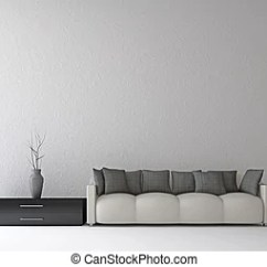 Wall Sofa Moheda Corner Bed Reviews And Shelf Near The Cement A Vase