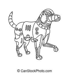 Retriever Stock Illustrations. 3,788 Retriever clip art