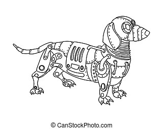 Dachshund Illustrations and Clipart. 3,213 Dachshund