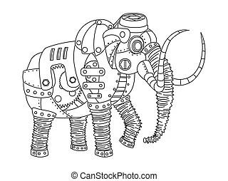 Mammoth Vector Clip Art Illustrations. 2,844 Mammoth