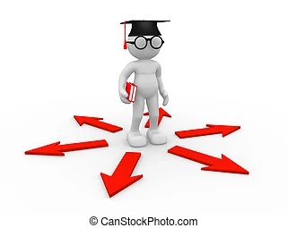 student success illustrations and