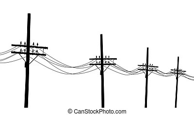 Utility pole Illustrations and Clipart. 221 Utility pole