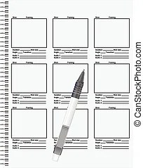 Storyboard Clipart Vector Graphics. 495 Storyboard EPS