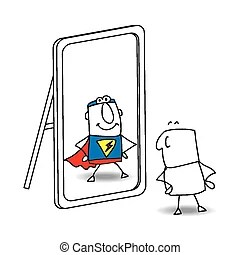 Mirror Illustrations and Clipart. 63,489 Mirror royalty