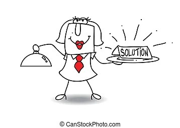 Problem solution Illustrations and Clip Art. 37,491