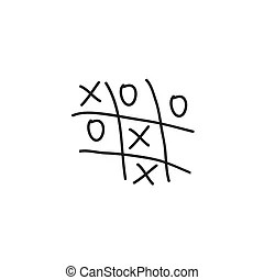 Noughts and crosses Illustrations and Clipart. 192 Noughts