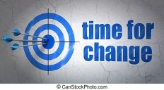 Timeline concept: target and time for change on wall background. Success  timeline concept: arrows hitting the center of