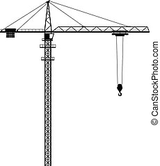 Tower crane Illustrations and Clipart. 7,988 Tower crane