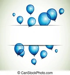 balloons with string illustrations