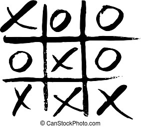 Noughts and crosses Illustrations and Clipart. 120 Noughts