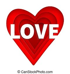 """Download Heart shaped love text art. The word """"love"""" written in ..."""