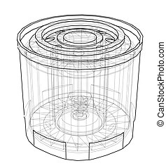 Oil filter Clipart and Stock Illustrations. 1,963 Oil