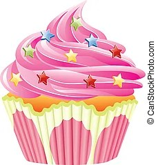 cupcakes illustrations and clipart