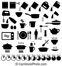 An illustration of a generic instructions manual.