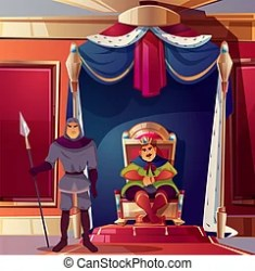 throne room ballroom king palace guard background ancient vector cartoon castle royal severe medieval interior game movie guards