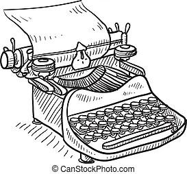 Typewriter Illustrations and Clip Art. 7,061 Typewriter