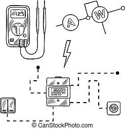Voltmeter Illustrations and Clip Art. 1,464 Voltmeter