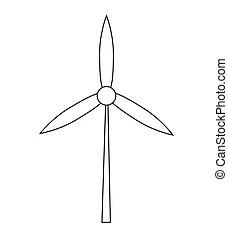 Design of wind symbol design.