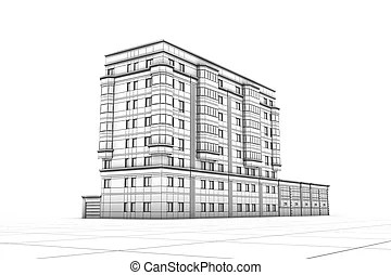 Apartment building Illustrations and Clipart. 101,677