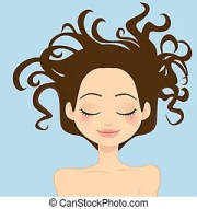messy hair clip art and stock illustrations