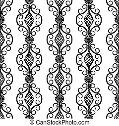 Calligraphic retro elements and page decoration vintage
