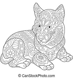 Husky Illustrations and Clipart. 2,360 Husky royalty free