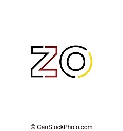Zo letter Vector Clip Art Illustrations. 161 Zo letter