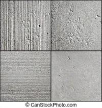 Gewellt, beton, hintergrundmuster. Gewellt, senkrecht ...