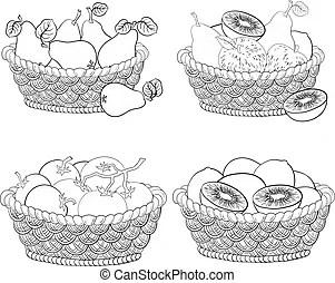Kiwifruit Stock Illustrationen. 397 Kiwifruit Clipart