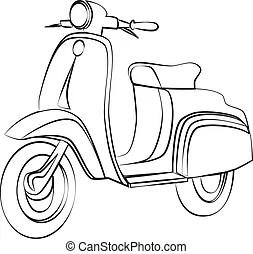 Motorroller Illustrationen und Clip-Art. 21.497
