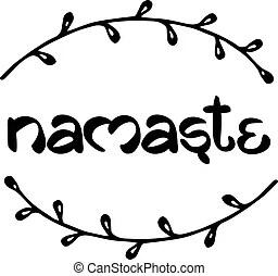 Namaste Illustrationen und Clip-Art. 865 Namaste