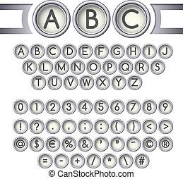 Schreibmaschine Lizenzfreie Vektor Clip Art. 1.649
