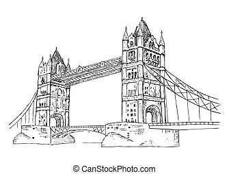 Puente de torre. Imágenes de la torre del puente en londres.
