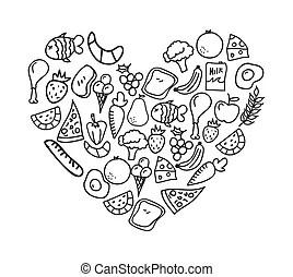 Images et Illustrations de Alimentaire. 16 216
