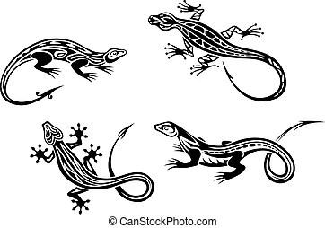 Clip Art et Illustrations de Reptile. 24 878 graphiques