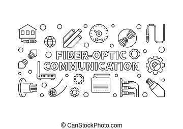 Connexion, fibre optique. Usage, fibre optique