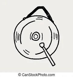 Illustrations et Cliparts de Gong. 941 dessins et