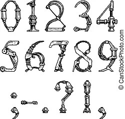Graphiques Clip Art Vecteurs de Ponctuation. 4 879