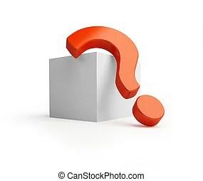 問號. 人們, 問題, mark., -, 人人, 3d. | CanStock