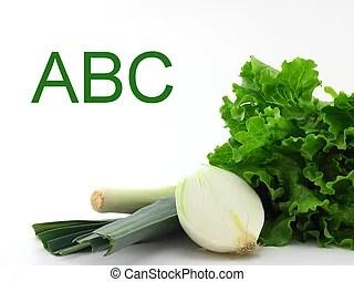 蔬菜, 綠色. 萵苣, 花椰菜, 被隔離, 黃瓜, 卷心菜, broccoli, 白色.