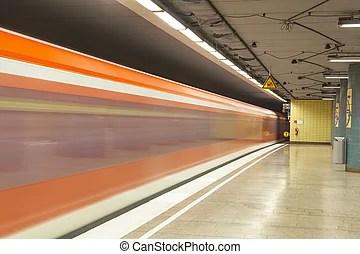晚上, (hdr), 光, 法國, 火車站. (hdr), tarbes, 巴黎france, 訓練, tarbes, 夜晚.
