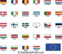 Unione, puzzle, bandiere, repubblica, cipro, europeo ...