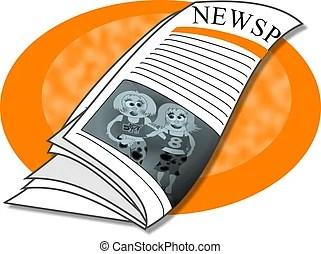 新聞用紙イラストとクリップアート。10.014 新聞用紙ロイヤリティ-フリーイラスト、畫像、グラフィックは數 ...