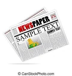 新聞用紙イラストとクリップアート。10.015 新聞用紙ロイヤリティ-フリーイラスト、畫像、グラフィックは數 ...