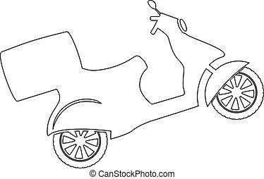 Scooter Clip Art en Stock Illustraties. Zoek onder 18.481